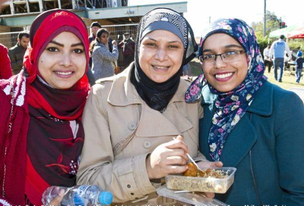 تصاویر جشنواره غذای حلال که در شهر استرالیایی برگزار شد