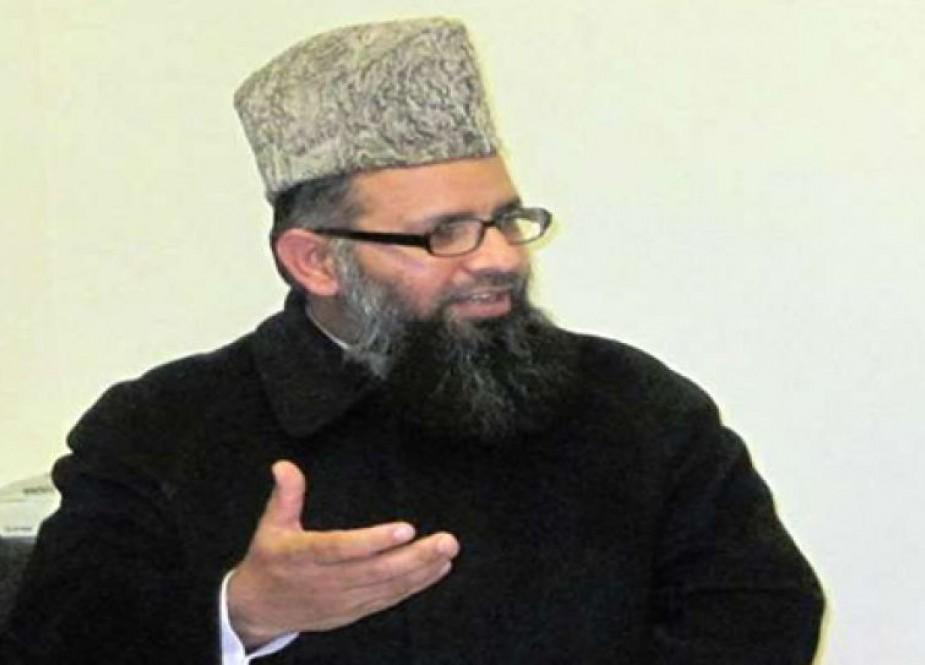 دکتر راغب حسن نعیمی مدیر دارالعلوم جامعه نعیمیه پاکستان