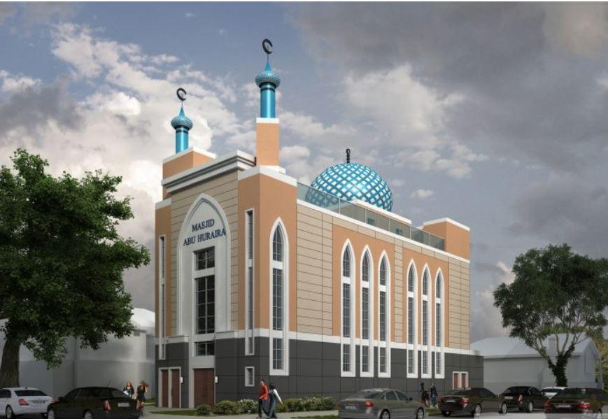 مسجدی به سبک معماری اسلامی در محله نیویورک ساخته می شود