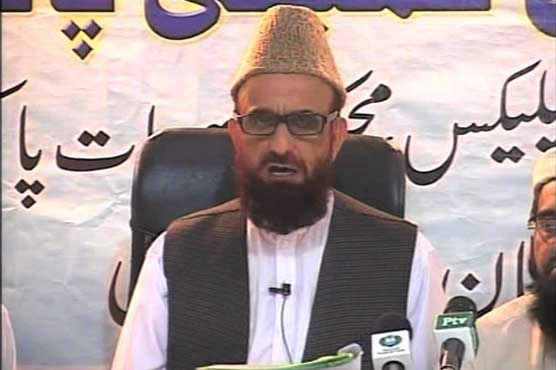 مفتی منیب الرحمن رئیس تنظم المدارس اهل سنت و  رئیس کمیته رؤیت هلال پاکستان