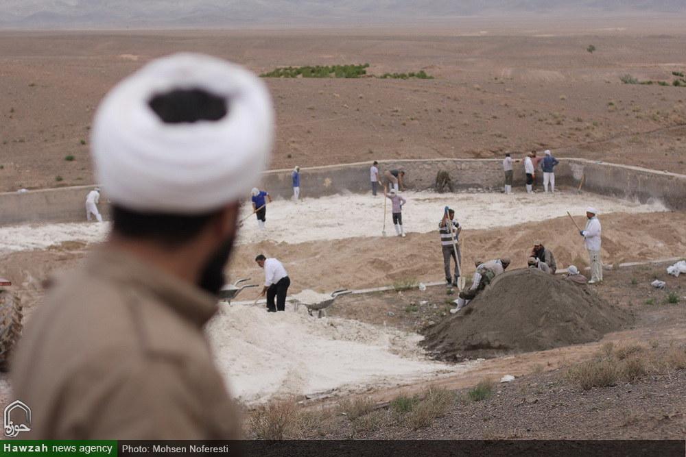 تصاویر/ اردوی جهادی و آموزشی سرگروه مبلغین خراسان جنوبی