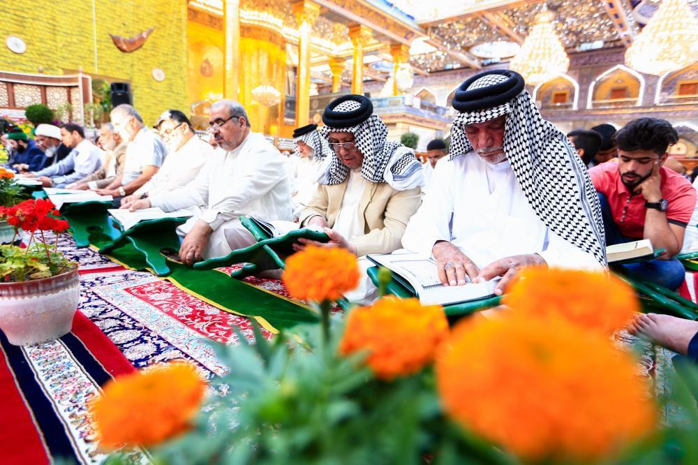 حال و هوای رمضانی حرم حضرت عباس(ع)
