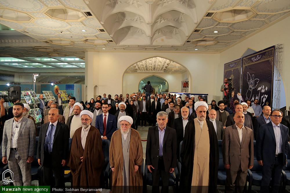 تصاویر/ آئین گشایش بخش بین الملل بیست و ششمین نمایشگاه قرآن کریم(۲۱)