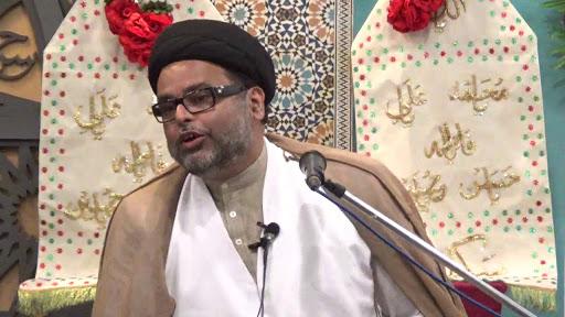 حجت الاسلام و المسلمین سید احسان حیدر جوادی روحانی فعال هند