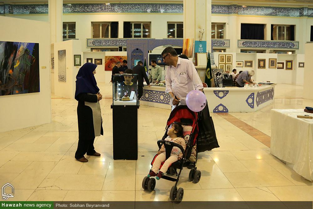تصاویر/ بخش حوزوی و غرفه خبرگزاری حوزه در دوازدهمین روز نمایشگاه قرآن کریم(۳۸)