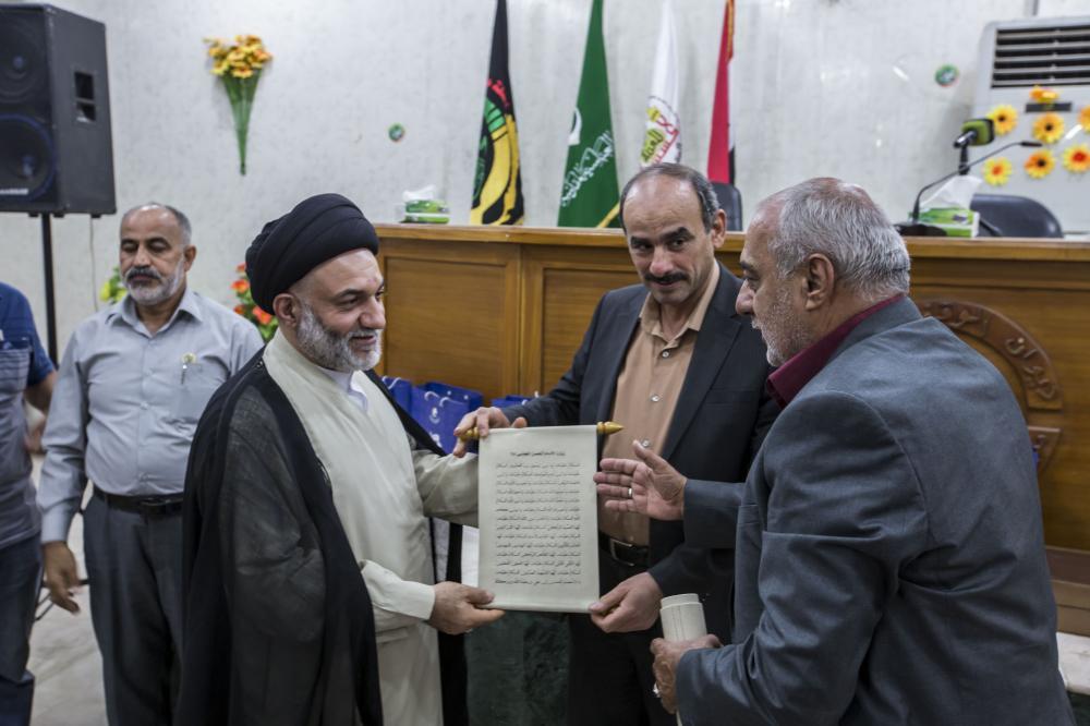 اختتامیه جشنواره امام حسن مجتبی (ع) در شهر حلّه عراق