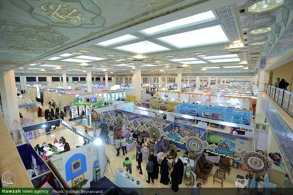 تصاویر/ پانزدهمین روز بیست و ششمین نمایشگاه قرآن کریم(۴۳)