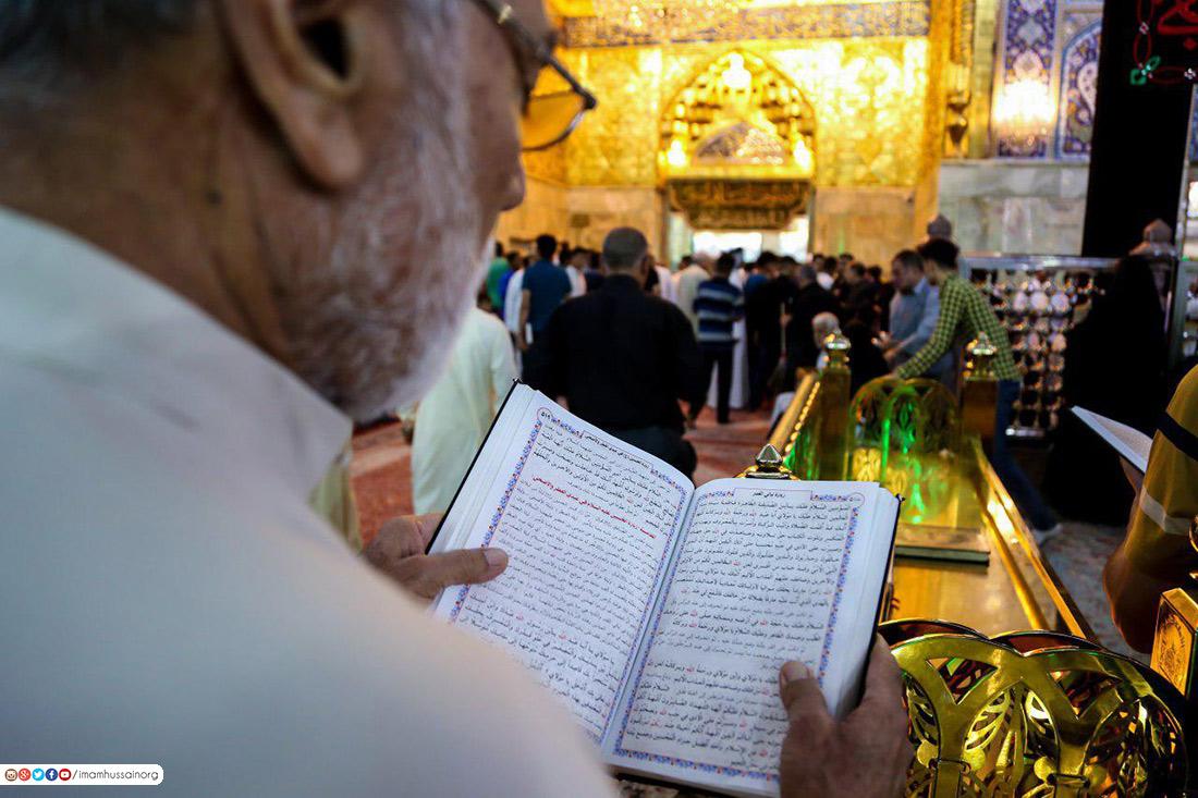 مراسم شب قدر در حرم حضرت سید الشهدا (علیه السلام) برگزار شد