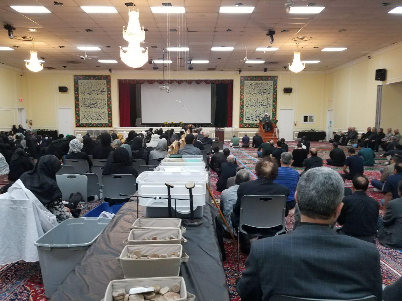 مراسم دومین شب قدر در مرکز اسلامی واشنگتن برگزار شد
