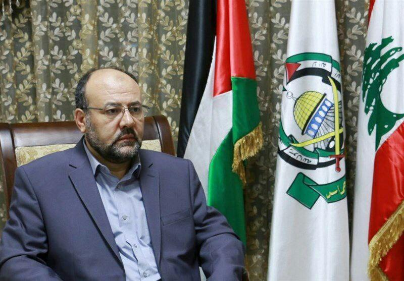 علی برکه  نماینده حماس در لبنان