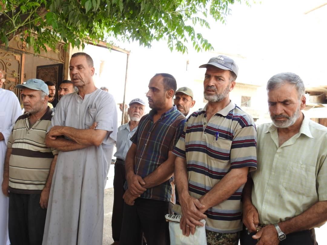 اجتماع مردم شهرک فوعه و کفریا به مناسبت روز جهانی قدس