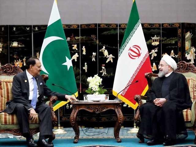 دیدار رئیس جمهور ایران و پاکستان