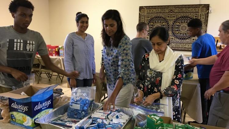 مسلمانان و مسیحیان در اوهایو برای کمک به نیازمندان متحد شدند