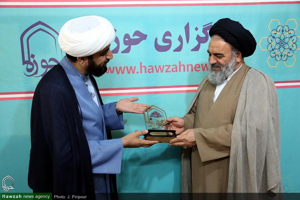 تصاویر/ بازدید نماینده ولی فقیه در استان کردستان از خبرگزاری حوزه