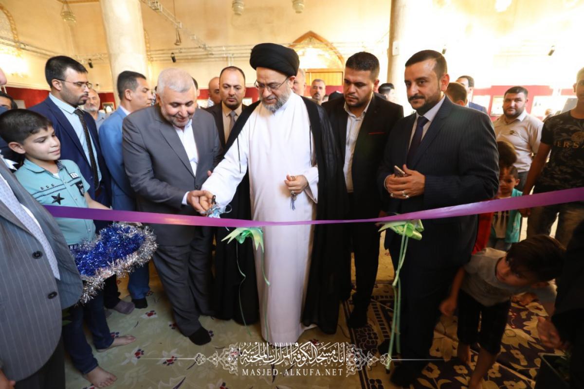 گزارش تصویری از هشتمین جشنواره فرهنگی سفیر در مسجد کوفه