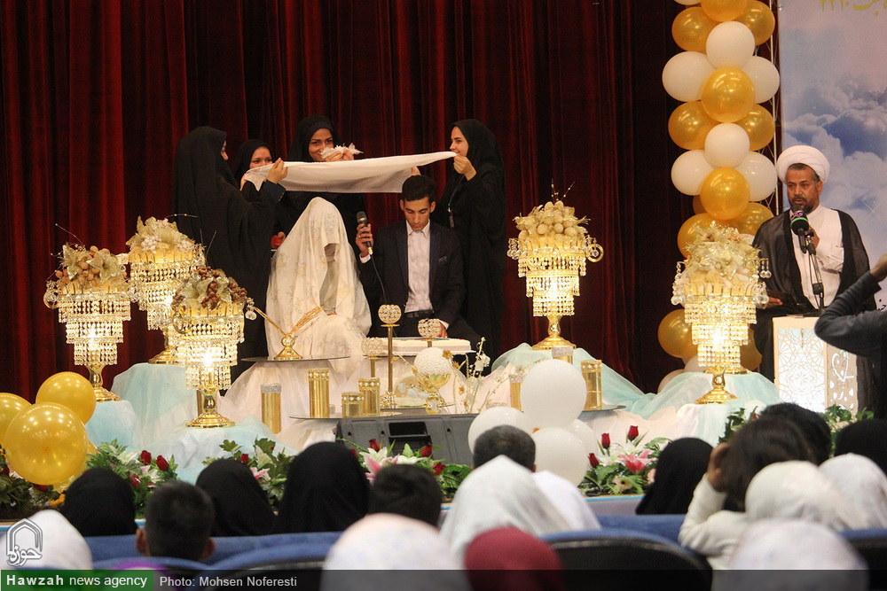 تصاویر/ جشنواره ازدواج و اهدای ۱۰۰۰ سری جهیزیه نوعروسان در بیرجند