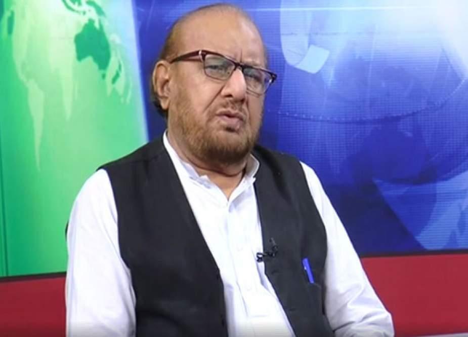 مظفر هاشمی، نائب امیر جماعت اسلامی پاکستان