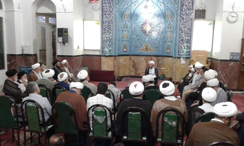 گردهمایی ائمه جماعات مساجد شهر تهران در مسجد انصارالحسین(ع) خیابان نیروی هوایی