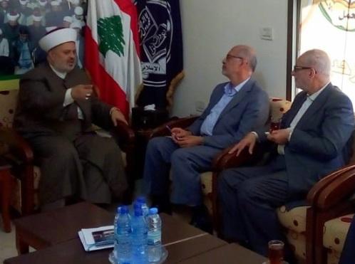 هیئتی از مجمع تقریب مذاهب اسلامی با جبهه عمل اسلامی دیدار کرد