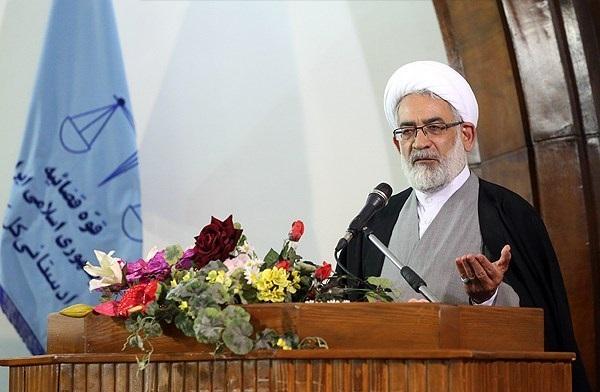حجت الاسلام والمسلمین منتظری دادستان کشور