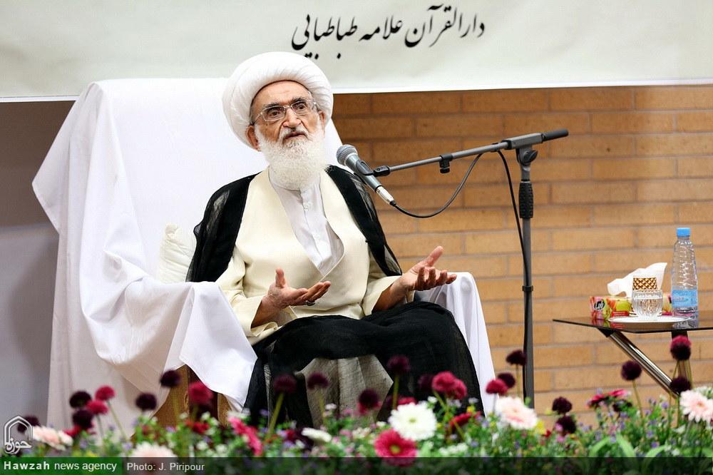 تصاویر/ اختتامیه طرح اعزام اساتید تفسیر قرآن حوزه در ماه مبارک رمضان