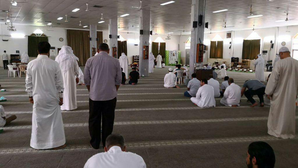 توقیف نماز جمعه شیعیان بحرین