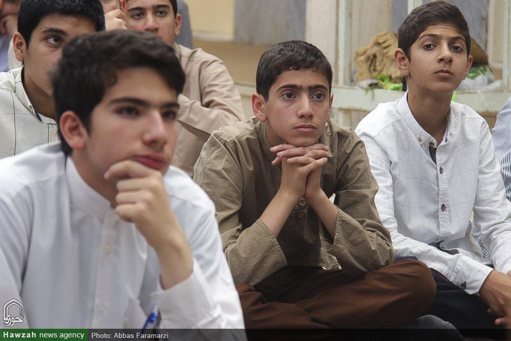 تصاویر/ اردوی میثاق طلبگی طلاب جدیدالورود حوزه علمیه قم در تفرش