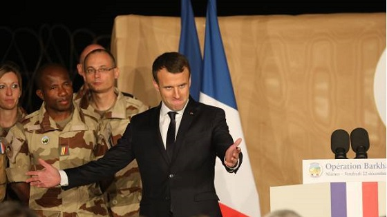 امانوئل مکرون رئیس جمهور فرانسه