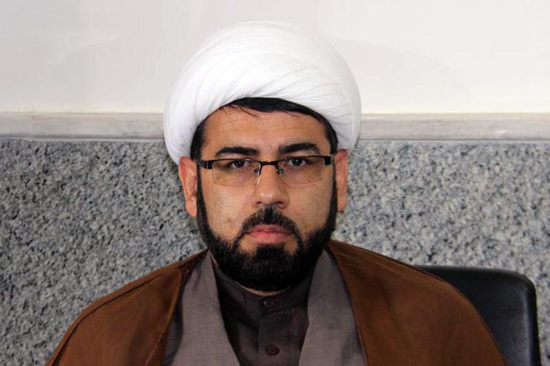 حجت الاسلام امید سعادتی ، مدیر مدرسه علمیه آیت الله حکیم شیروان