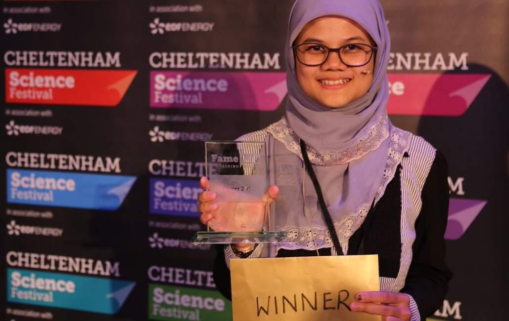زیست شناس مسلمان، جایزه نخست رقابت بین المللی عملی را به خود اختصاص داد