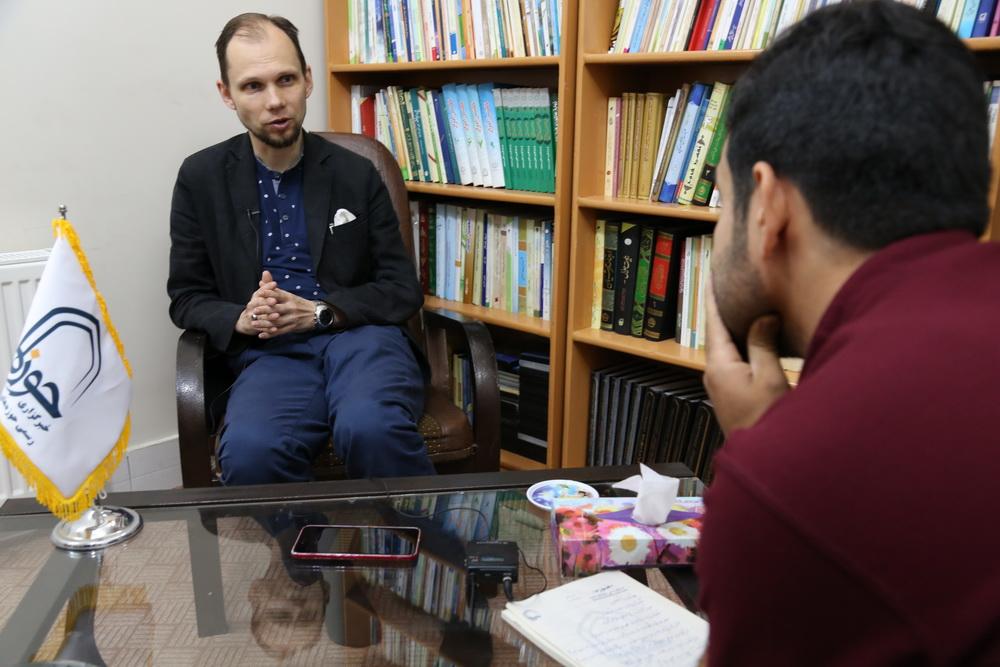 مصاحبه با تاراس چرنینکو / پژوهشگر روسی
