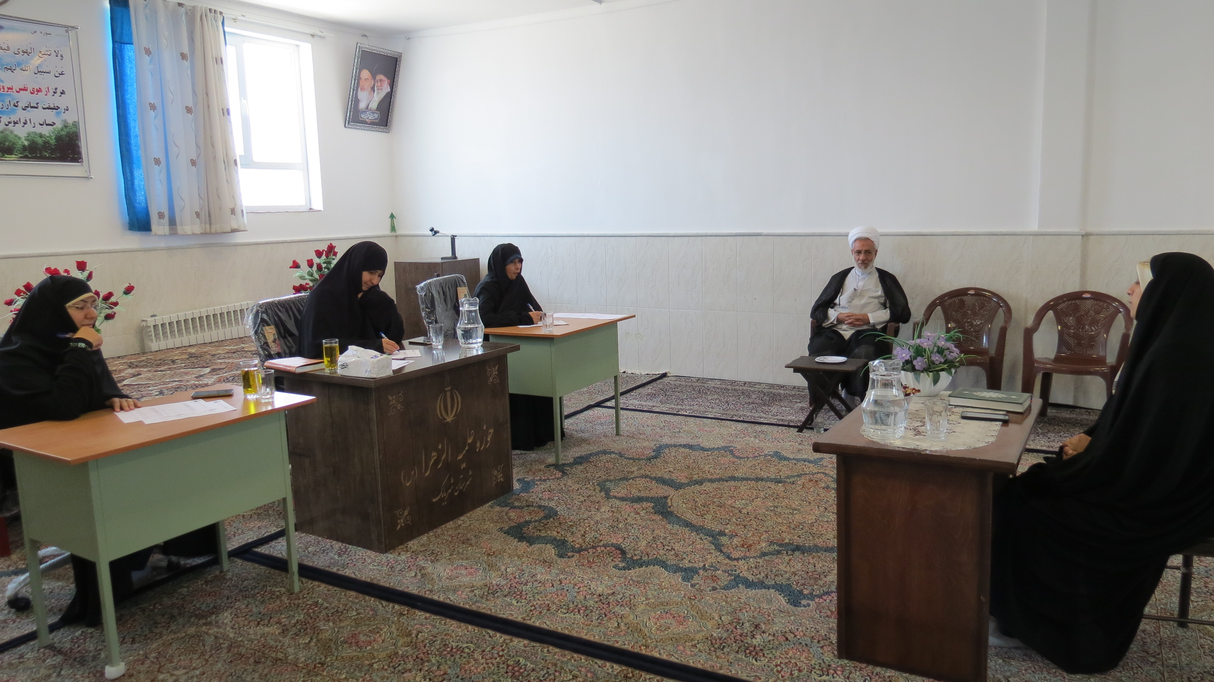 مصاحبه خواهران حوزه علمیه کرمان