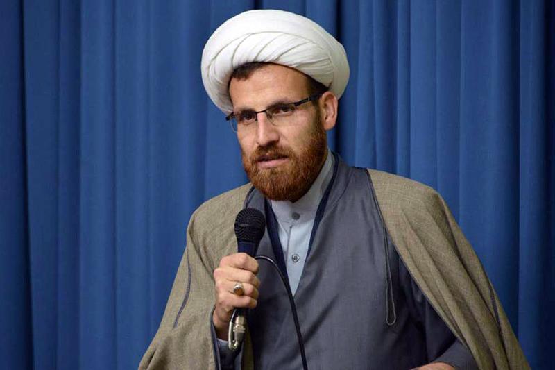 حجت الاسلام علی ابراهیمی - مدیر مدرسه علمیه حضرت ولیعصر(عج) اسفراین