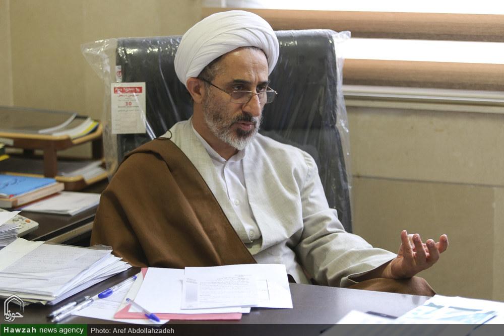 گفت و گو با حجت الاسلام والمسلمین رستم نژاد معاون آموزش حوزه های علمیه
