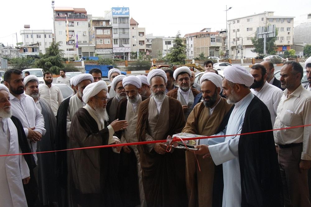 افتتاح ساختمان مدیریت حوزه مازندران