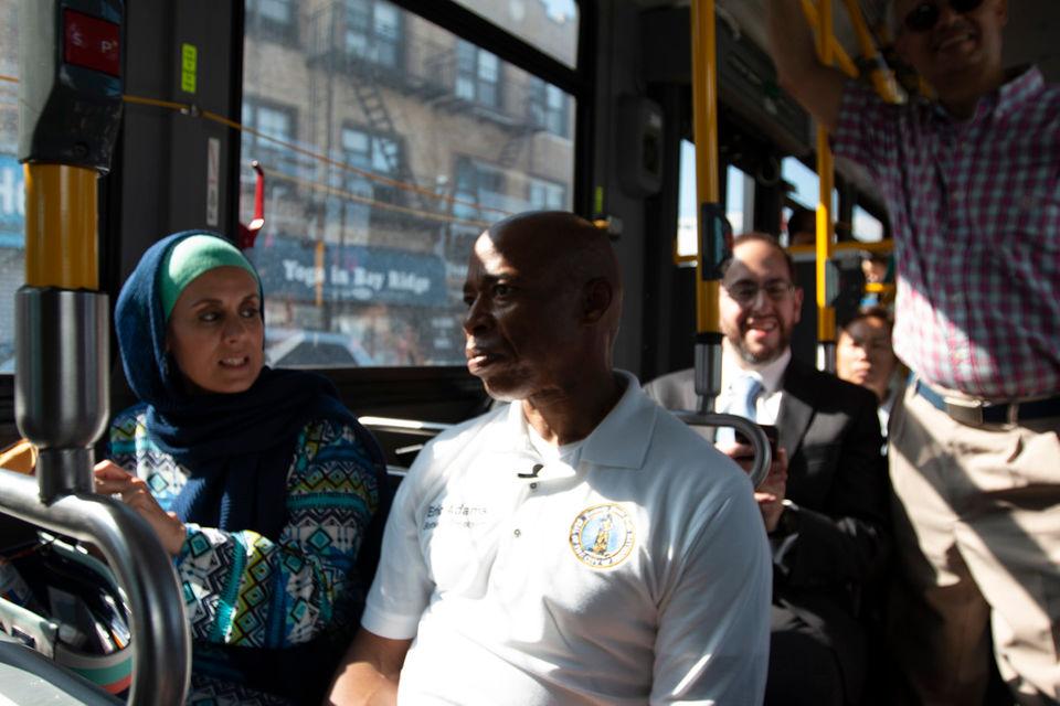 سواری با اتوبوس میان ادیانی در بروکلین + تصاویر