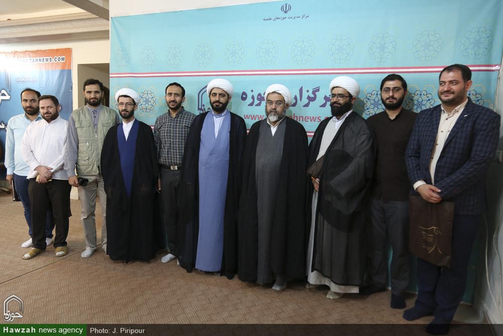تصاویر/ بازدید مدیرعامل بنیاد فرهنگی امامت از رسانه رسمی حوزه