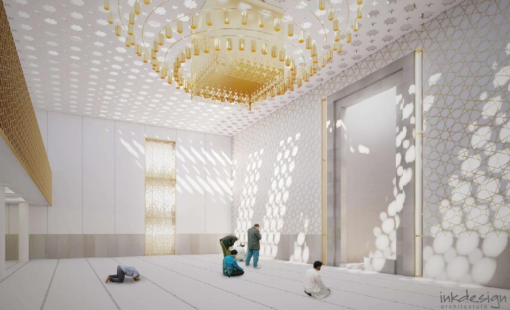 جامعه اسلامی گلاسکو، طرح وسیع سازی و مرمت مسجد را ارائه  داد