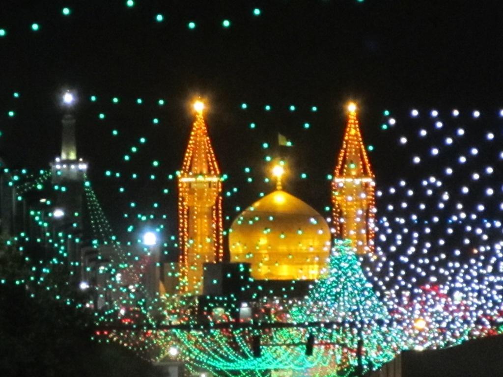 جشن شب ولادت امام رضا