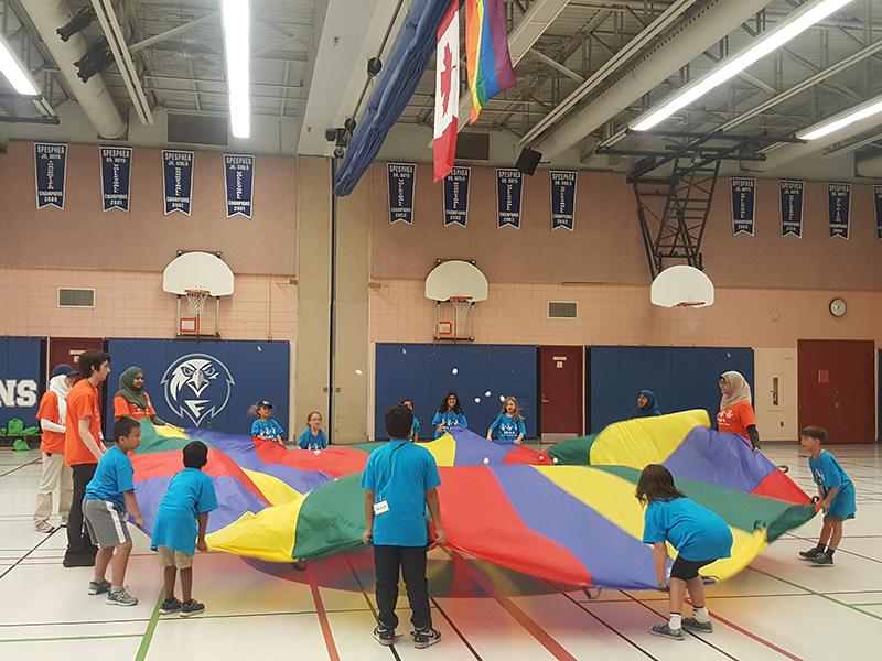 اردوگاه تابستانی کودکان متعلق به «ادیان ابراهیمی» در کانادا برگزار شد