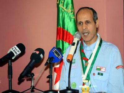 سخنگوی انجمن پیشاهنگان اسلامی الجزایر