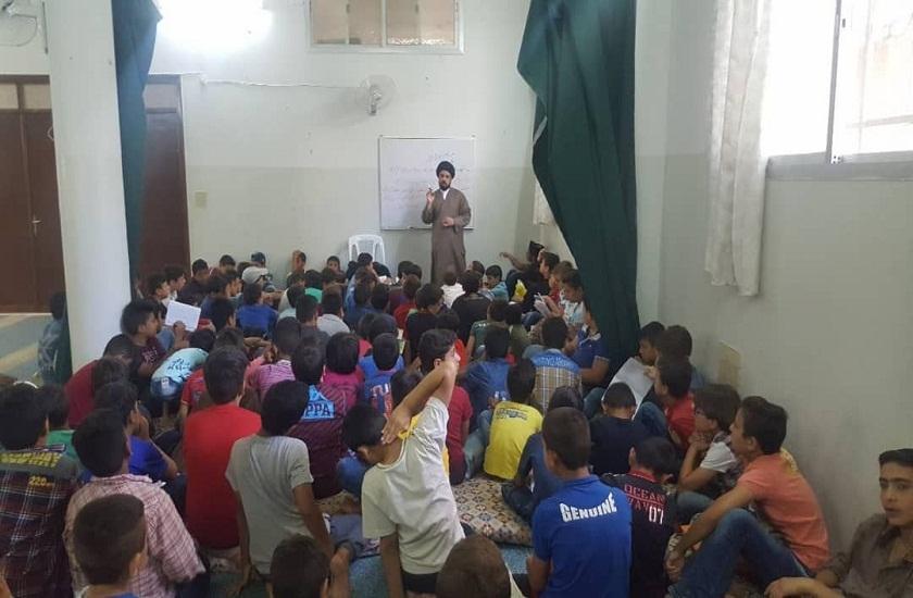 دوره فرهنگی امام حسین(ع) برای نوجوانان سوریه از سوی آیت الله العظمی حکیم