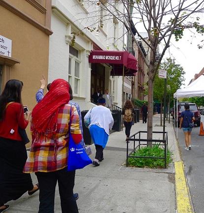 تور بازدید از اماکن اسلامی، برای افشای تاریخچه اسلام در نیویورک