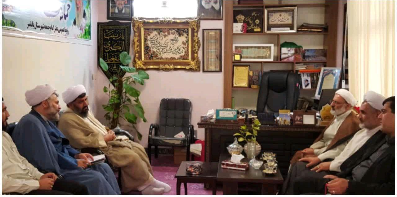 دیدار مدیر حوزه علمیه مازندران و امام جمعه بابلسر