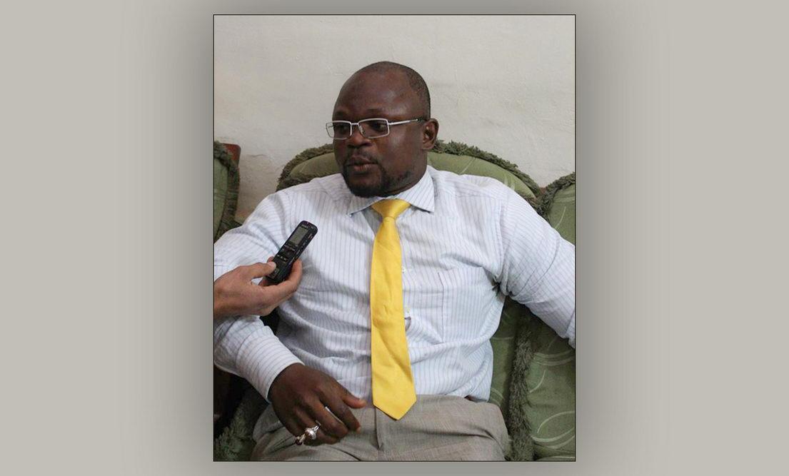علی برنارد جنگام روزنامه نگار کامرونی