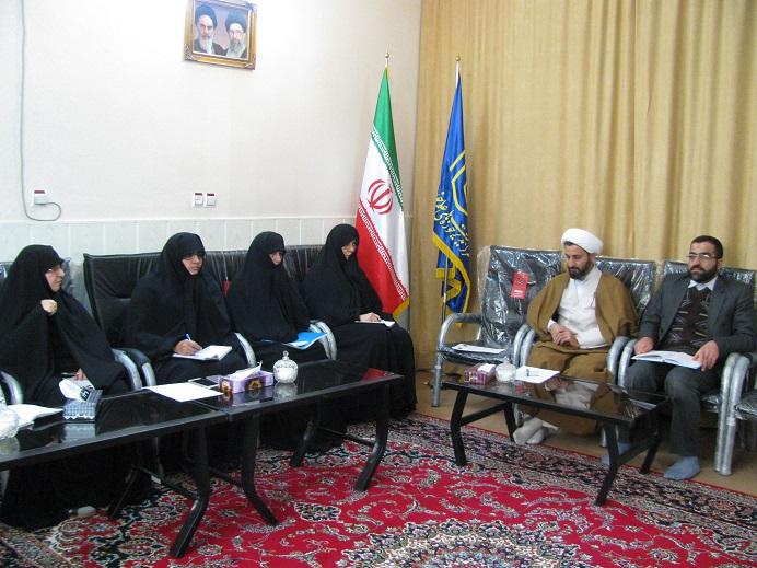 مدیرحوزه علمیه خواهران مازندران؛ نشست با کادر مدیریت