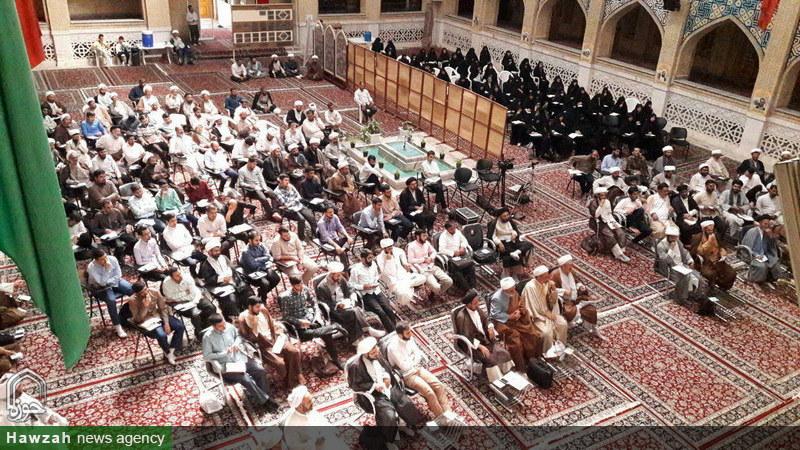 تصاویر/ همایش آموزشی معارفی ایام غدیریه در مشهد مقدس