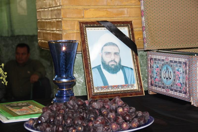تصاویر/ مراسم اربعین امام جمعه فقید الوند