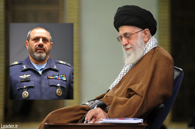 امیر سرتیپ نصیرزاده به فرماندهی نیروی هوایی ارتش منصوب شد