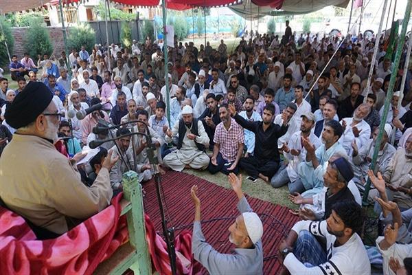مراسم سالگرد شهادت امام محمد باقر (ع) در کشمیر برگزار شد
